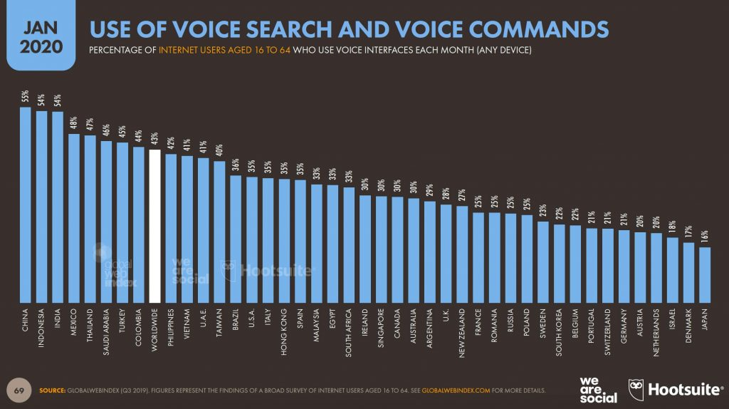 Voice Report We Are Social