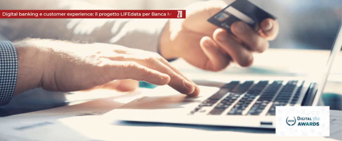 LIFEdata per Banca MPS progetto digital banking e customer experience