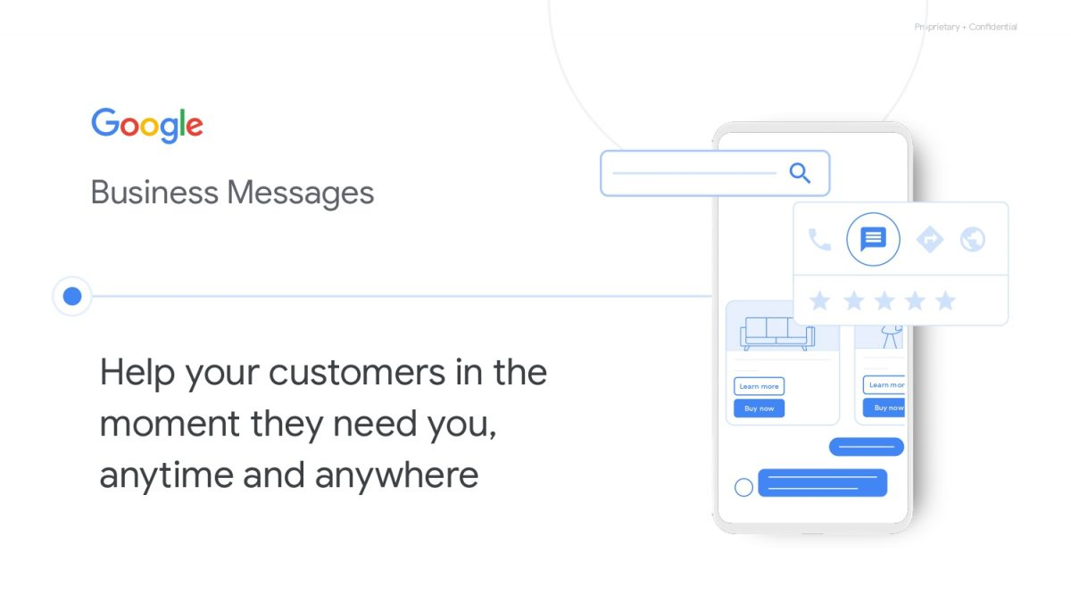 google business messages italia